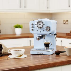 Swan Retro - espresso kaffivél