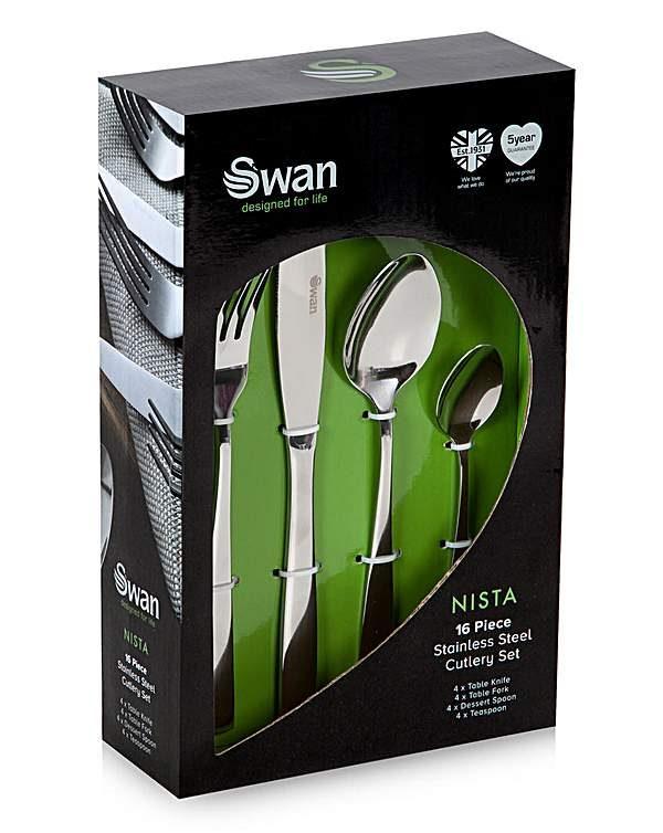 Swan Nista - 4 manna hnífaparasett