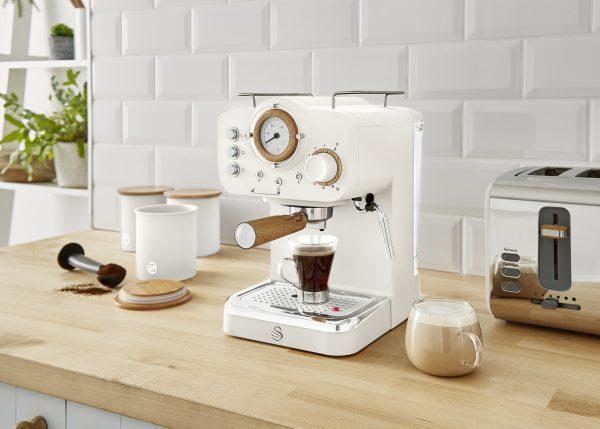Swan Nordic - espresso kaffivél, alla leið