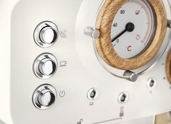 Swan Nordic - espresso kaffivél, hvítt
